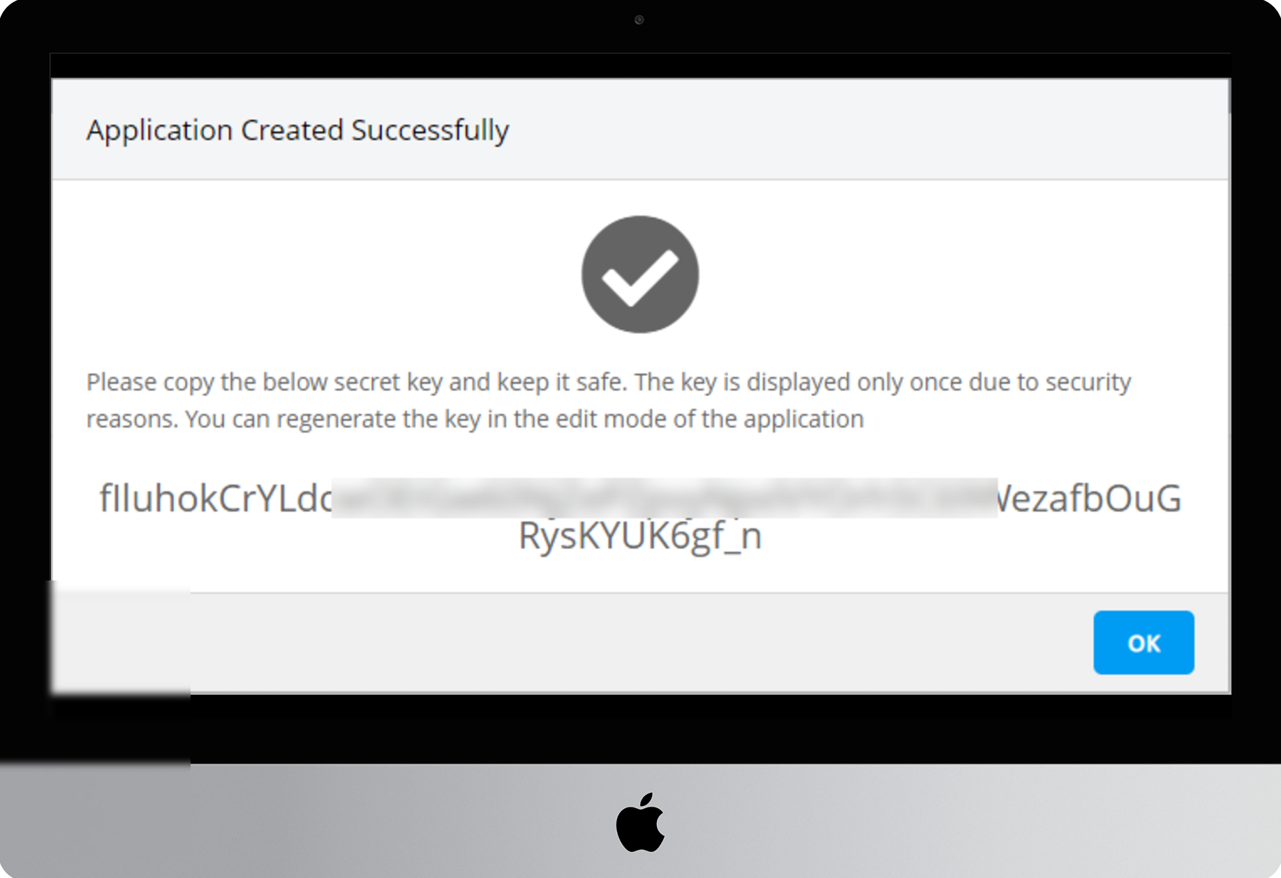 Create New Application